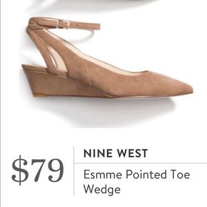 Nine West Esmme Pointed Toe Wedge